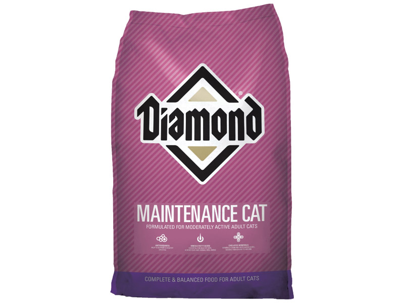 Diamond Maintenance Formula - Adult Dry Cat Food - 40 lb Bag
